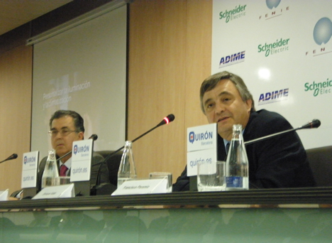 Electric Enrique Valer, Director General de Schneider