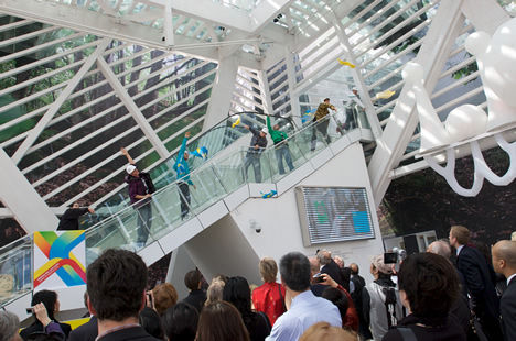 Pabellon de Suecia en la Expo2010