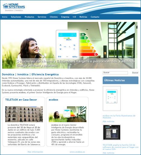 Nueva Web de Home Systems