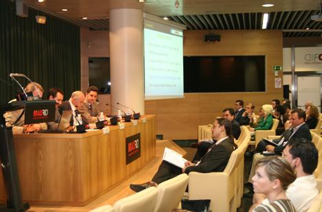 Ponentes y Público Premios Domótica e Inmótica de la Comunidad de Madrid