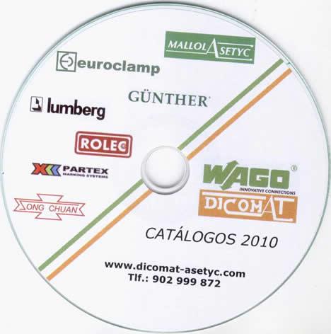 Catálogo CD de DICOMAT-MALLOL