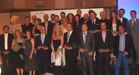 Entrega premios Iplus de Grupo Vía