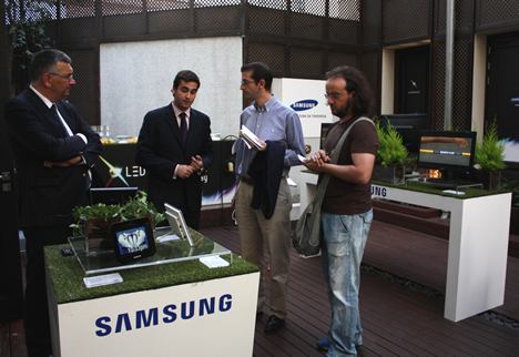 Evento LED-IT de Samsung