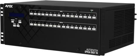 Matriz de Conmutación por Fibra Epica DGX 16 de AMX