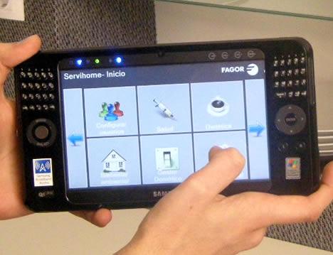 Interface Hogar Digital de Fagor Electrodomésticos e Ikerlan