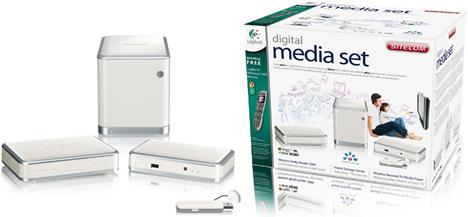 Sitecom y Logitech Digital Media Set