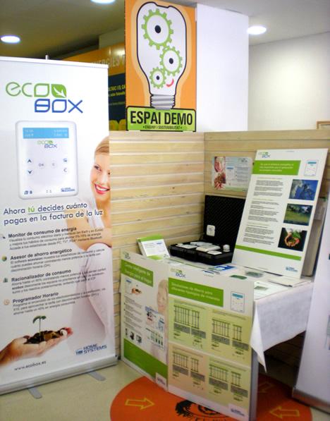 Home Systems con Ecobox en Espai Demo