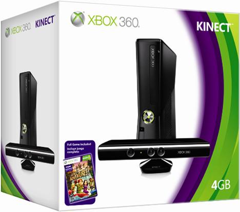 Microsoft Xbox360 con Kinect