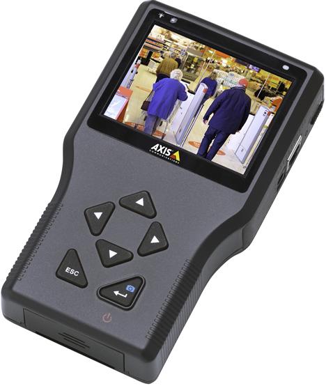 Monitor de Instalacion T8412 de Axis