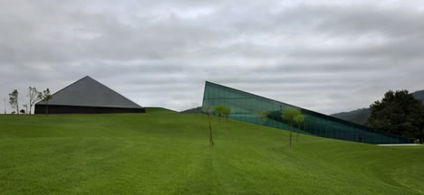 Exterior Parque Tecnológico de Vizcaya BTEK
