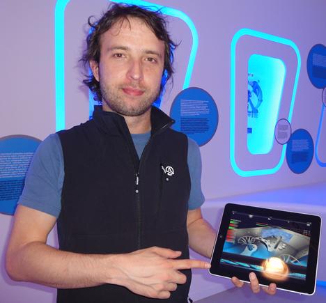 iPad para controlar el Parque Tecnológico de Vizcaya BTEK