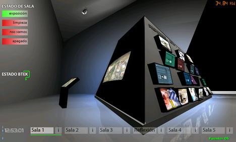 iPad Sala Quiosco de Innovación en el Parque Tecnológico de Vizcaya BTEK