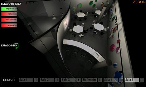 iPad para el control de la sala Lobtek en el Parque Tecnológico de Vizcaya BTEK