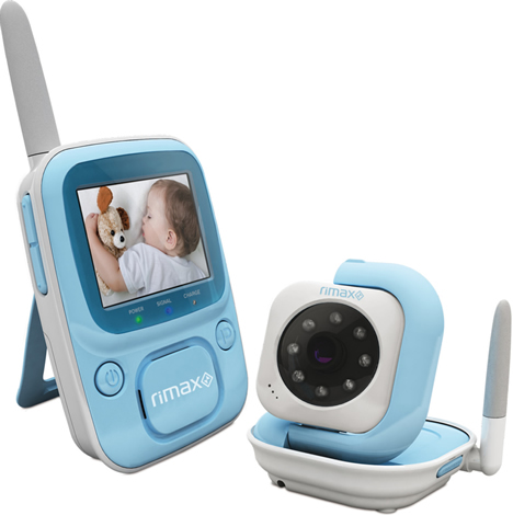 Rimax Kangoo Blue Digital Vigilabebes