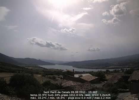 Cámara IP de Alta Definición de Mobotix en el Observatorio meteorologico de Sant Marti de Canals