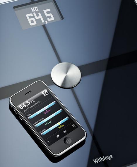 Báscula Withing con iPhone conectada a Internet