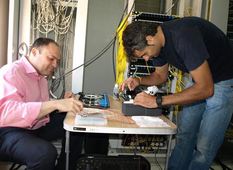 Instalación de Fibra Óptica en Vila-real