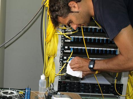 Instalación de la Red de Fibra Óptica en el Ayuntamiento de Vila-real