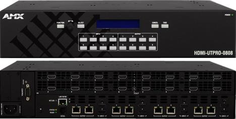 Matriz de Conmutación HDMI UTPro-0808 de AMX