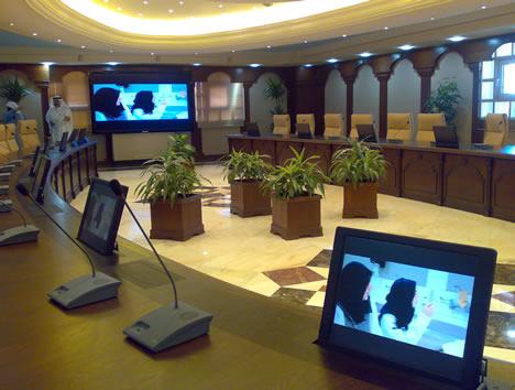 ARTHUR HOLM en el Consejo de Ministros de Kuwait
