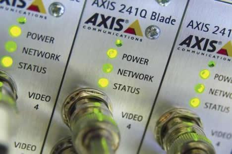 Cableado de red IP de Axis