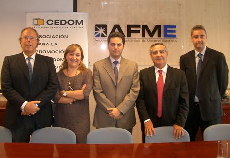 Firma de acuerdo de colaboración entre CEDOM y AFME