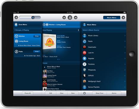 iPad para Sonos