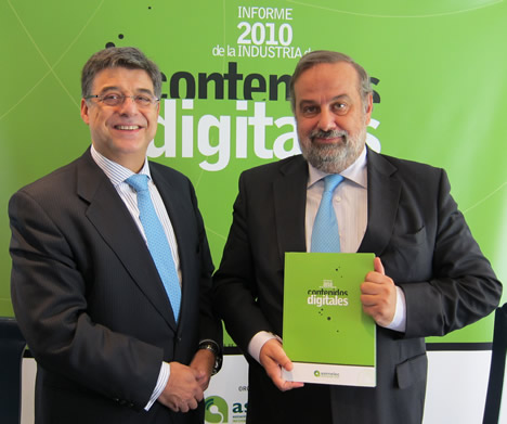 Presentación del Informe de la Industria de Contenidos Digitales de ASIMELEC