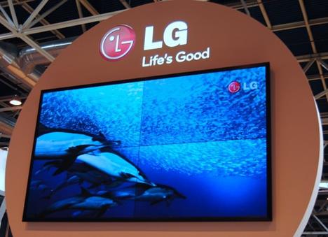 Videowall 120 pulgadas de LG