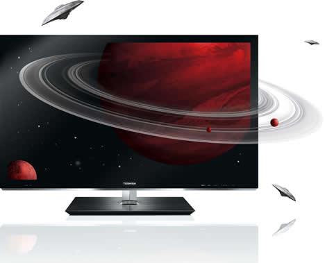 Televisores 3D de Toshiba diseñadas en colaboración con la firma danesa Jacob Jensen Design
