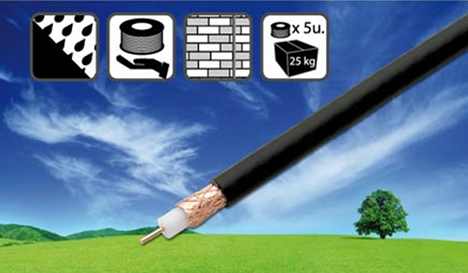 Cable coaxial CCF SAT N de Fagor