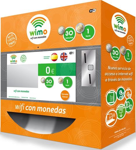 WIMO (WiFi con Mondedas) de SMC