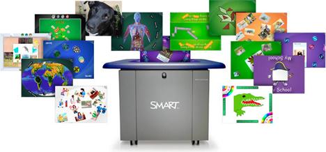 SMART Table de AV&D en ITWorldEdu 2010