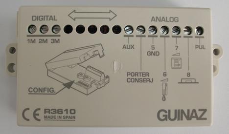 Interface R3610 para Guinaz Videoporteros