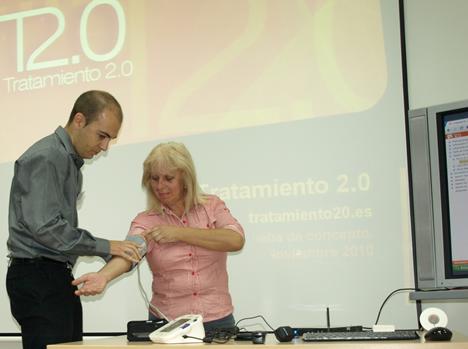 Teletratamiento inteligente de diabéticos de Indra en el Hospital General Universitario de Valencia