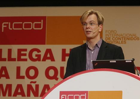 Anders Sjöman de Voddler en FICOD 2010