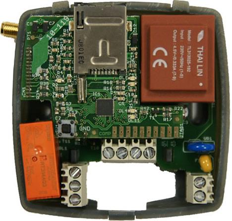 Interiror Controlador GSM 2-1 de DOINTEC