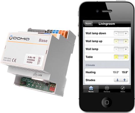 Pasarela TCP/IP con interface iPhone de LCN.