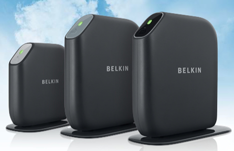 Routers Surf, Share and Play de Belkin