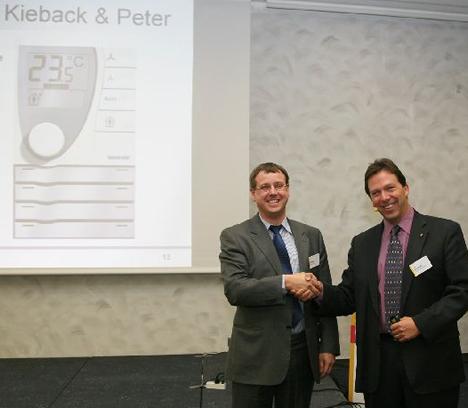 Kierback & Peter en LONMARK International Awards 2010