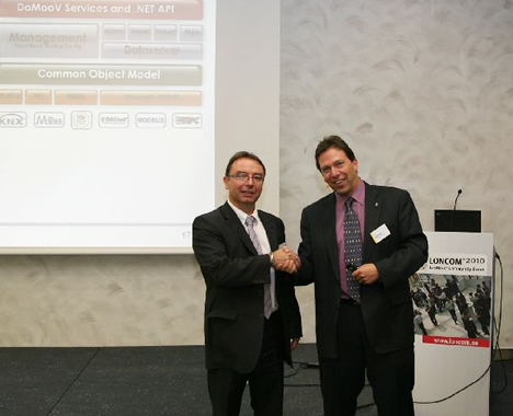 Newron Systems en LONMARK International Awards 2010