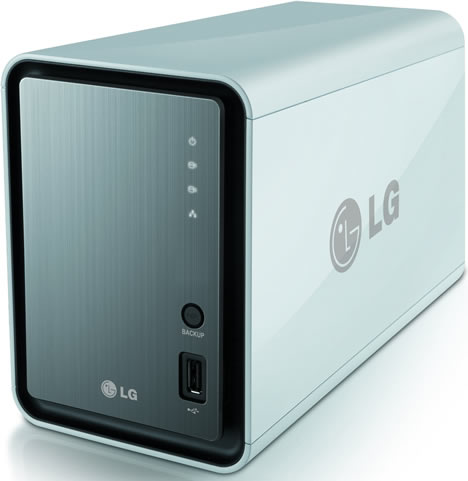 Centro multimedia N2A2 de LG