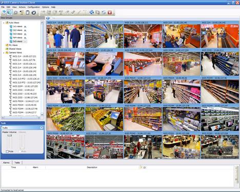 Versión 3.40 del software Axis Camera Station