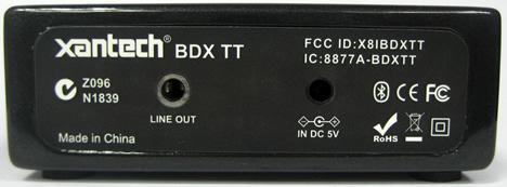 Receptor Bluetooth Table Top de Xantech