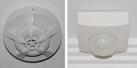 Sensores en vivienda de Docelar Ingeniería con KNX e Pantalla Iddero.