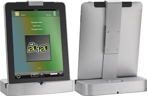 Cargador de sobremesa DIPAD con seguridad antirrobo para el iPad de Xantech