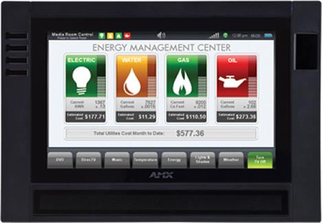 Pantalla Energy Management
