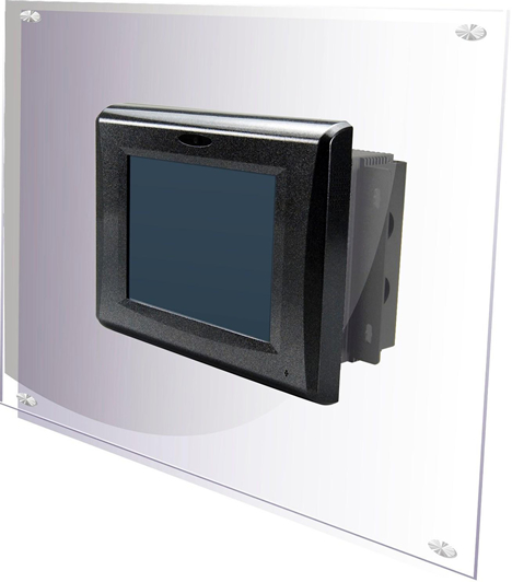 "Panel PC con pantalla táctil de 6.5 y 15"" de la familia VIA VIPRO de Anatronic"