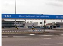 Centro de operaciones de la EMT en Sanchinarro