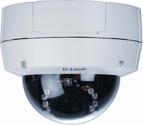 Cámara IP DCS-6511 de Videovigilancia de D-Link.